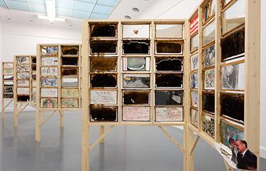 Van-Abbemuseum,-Positions-#2,-Anna-Boghiguian,-The-Salt-Traders,-2015.-Photo-Peter-Cox