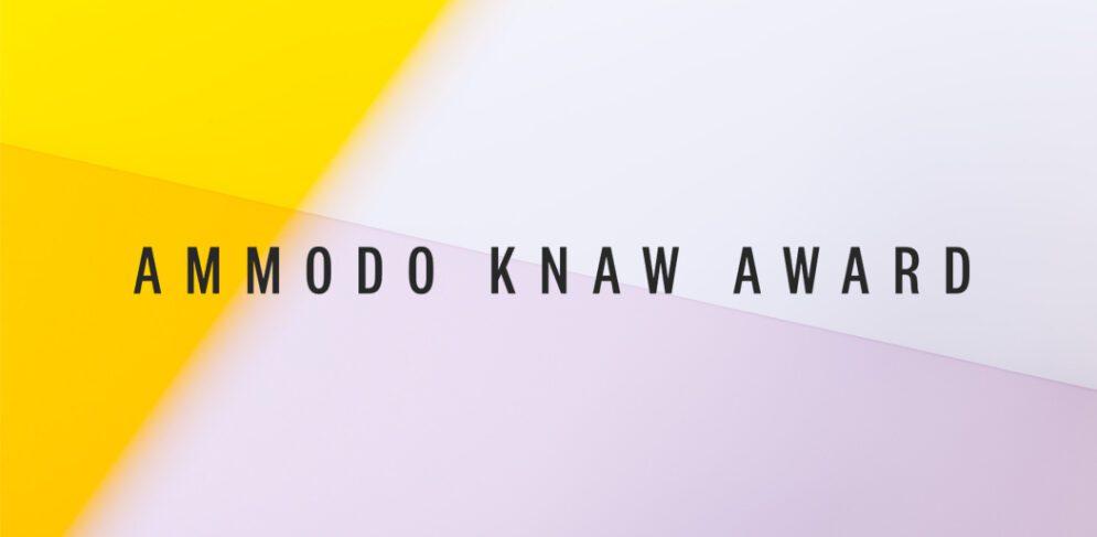 ammodo-knaw-award