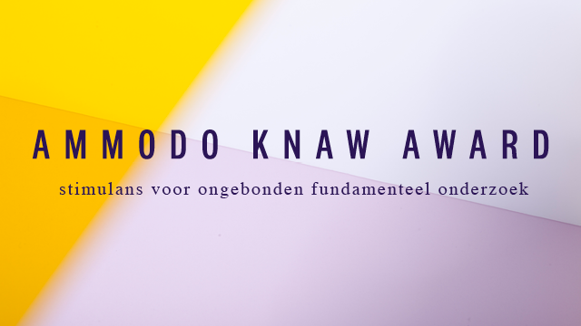 Laureaten Ammodo KNAW Award 2017 bekend