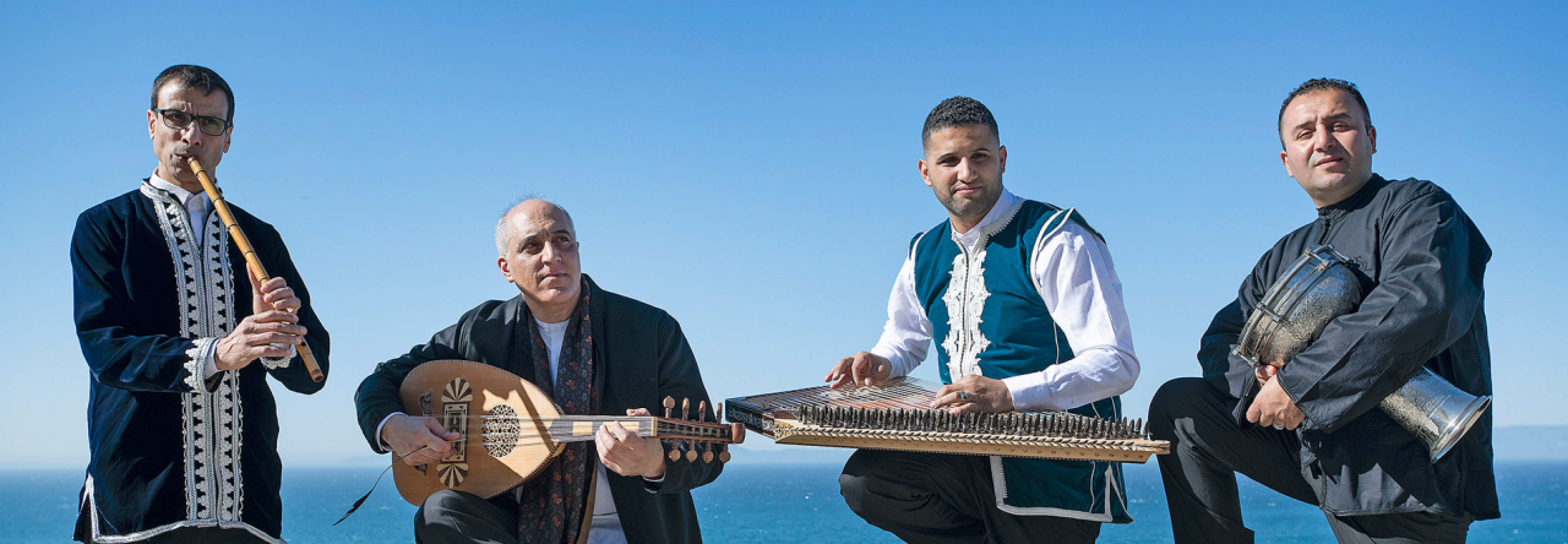 Concertgebouw – Omar Metioui: Al Aramawi & rawafid ft. Amsterdams Andalusisch Orkest