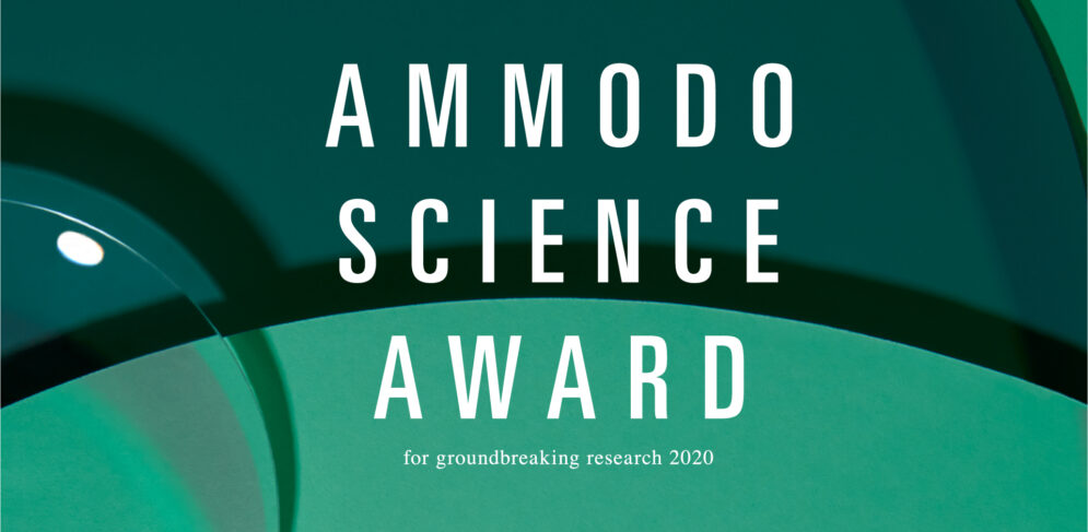 Eerste Ammodo Science Award for groundbreaking research uitgereikt
