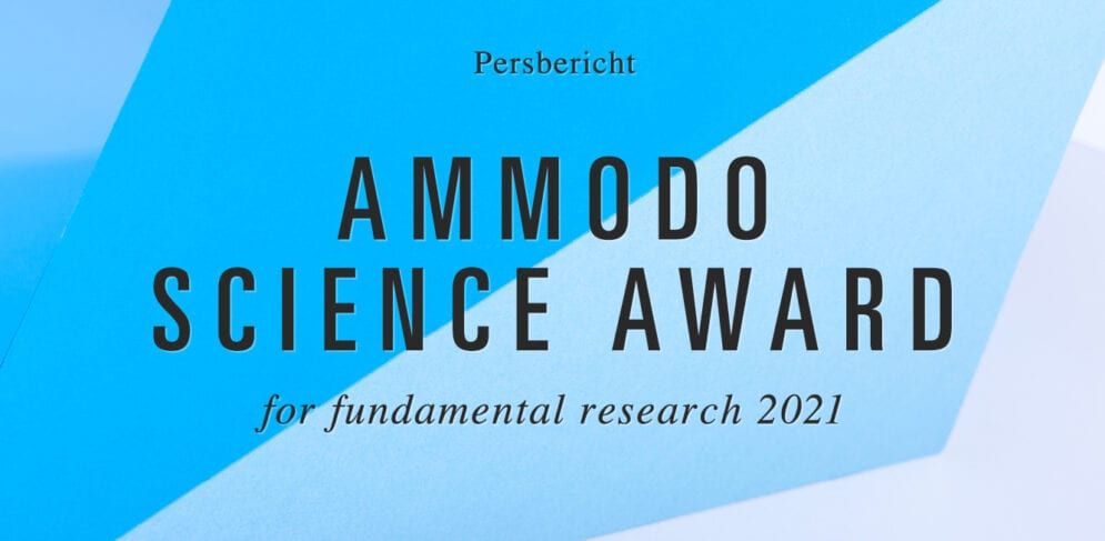 Ammodo Science Award for eight outstanding scientists in the Netherlands