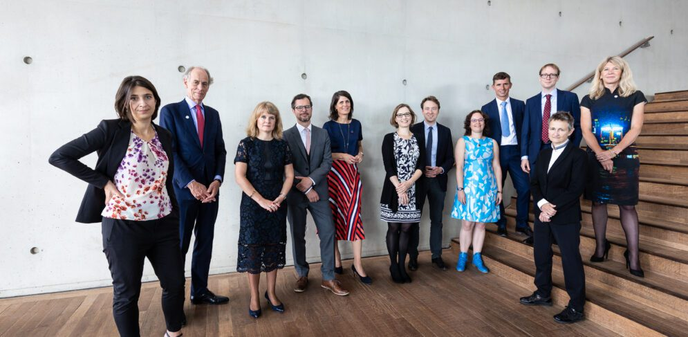 Laureates receive Ammodo Science Award 2021 in Muziekgebouw